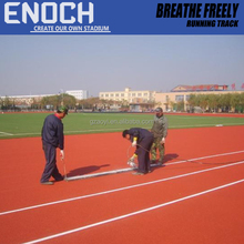 Stadium Synthetic Breathe Freely Rubber Running Track