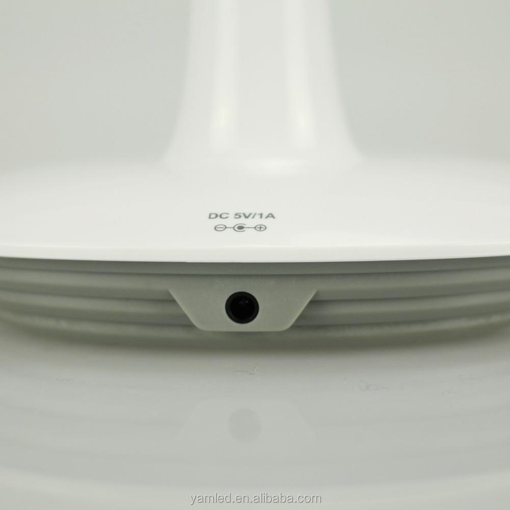 무선 충전기 나무 테이블 램프 5 년 수명 배터리-테이블 램프 및 ...