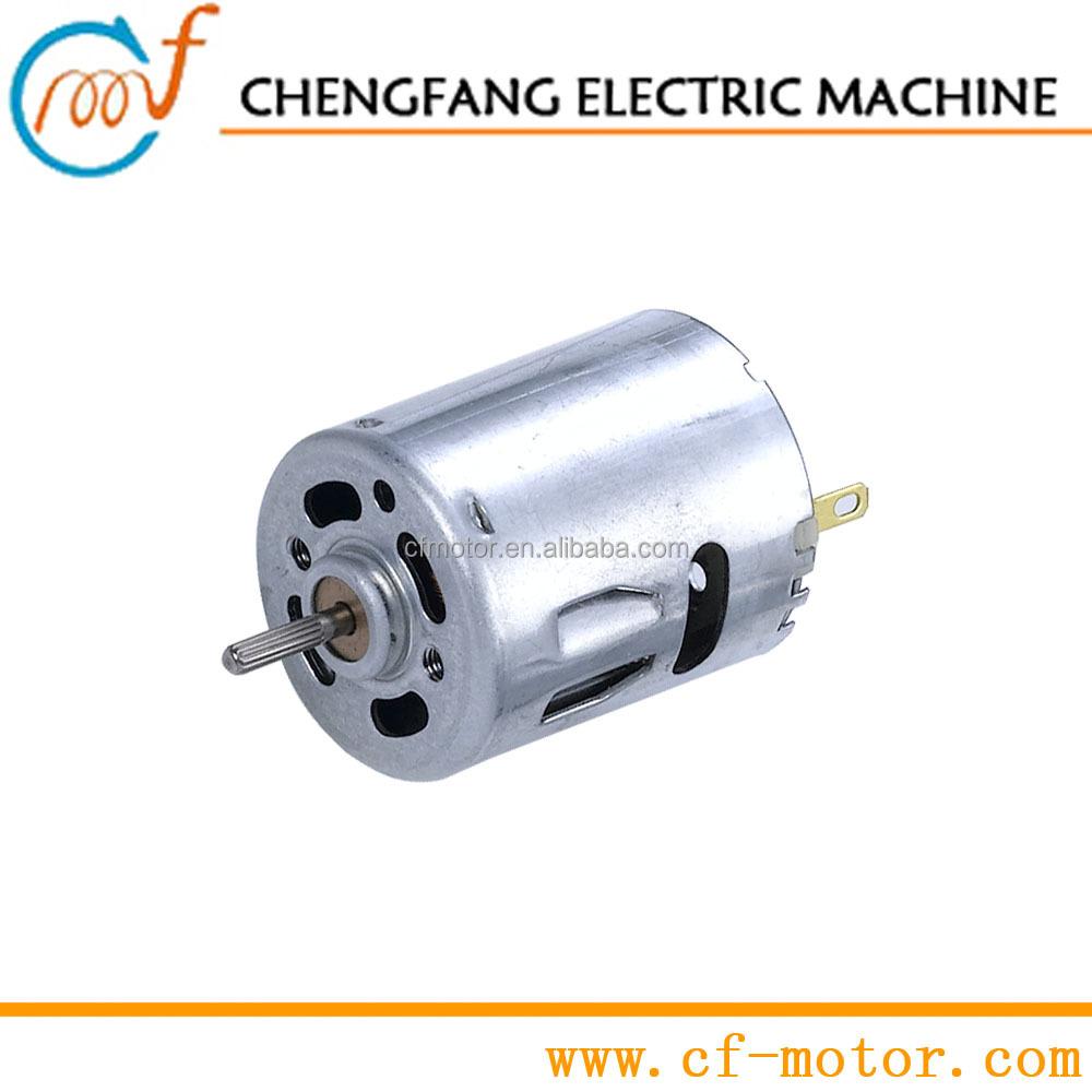 Small 3v 6v 12v 18v 24v dc motor controller dc motor 500 for Small dc fan motor