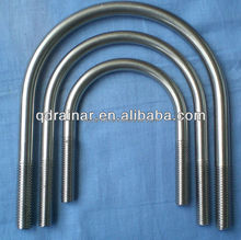 suit to pipe 2inch -8inch dia 5mm-12mm stainless steel u bolt ss304 A2-70
