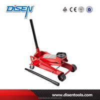 3Ton28KG auto steel floor jack hydraulic car 4 wheel dolly