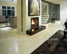 Natural Color Discount Bamboo Flooring with Interlocking System for Indoor Use-KE-V01021