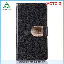 For Motorola Moto G leather case For Moto G