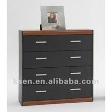 4 drawers glossy cabinet