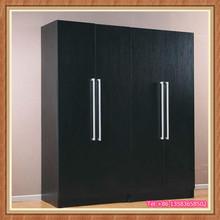 Wholesale cheap 4 door modern bedroom wardrobe