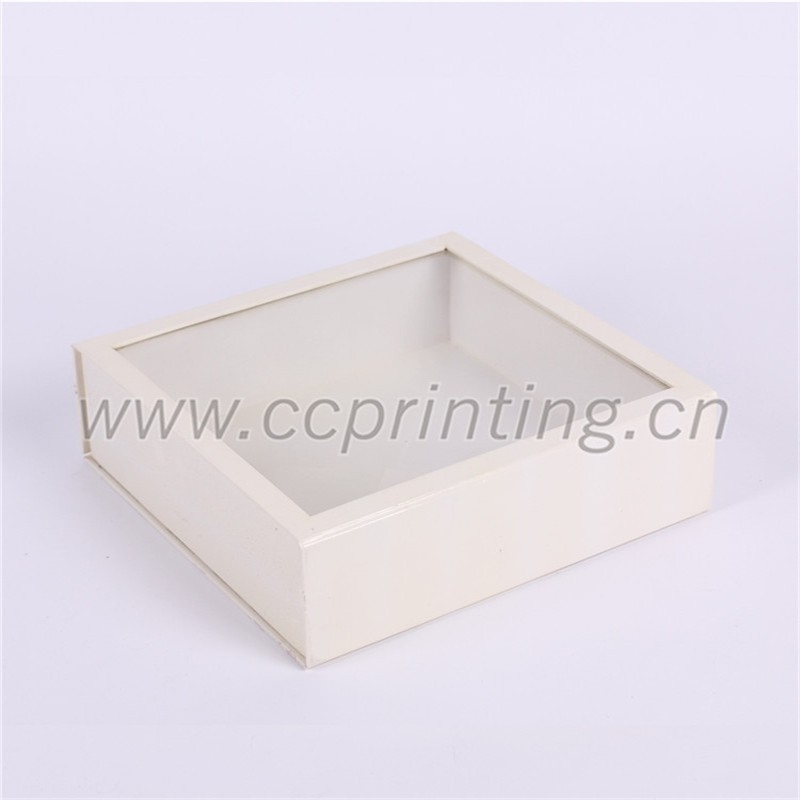 white cardboard foldable magetic box with PVC clear lid (5).jpg