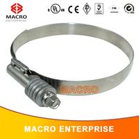 fire hose clamp/small diameter hose clamp/wire hose clamp