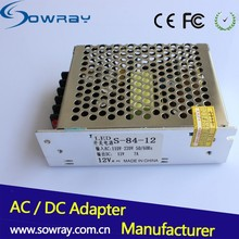 DC Power Adapter 12V Switching Power Supply 12V 7A Waterproof LED Strip Switching Power Supply Adapter
