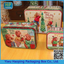 Promotional Bottom Price Attractive High Performance Mental Tin Storage Boxes Packaging Boxes For Jewelry Small Rectangular Cute