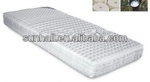 Bottom price hot sale massage natural latex mattress