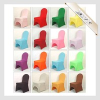 CC-56 Cheap Chair Covers Wedding For Plastic Chairs