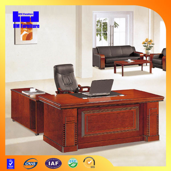 2015 Melamine modern executive desk high end office furniture