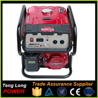 Widely Used 4 Stroke 5 KW Electric Gasoline Generator With Competitive Price
