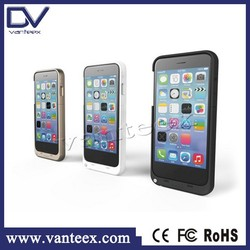 High capacity 3200mAh phone case with battery case for iphone 6 battery packs