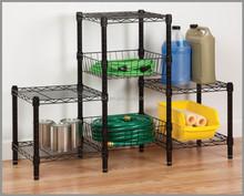 regolabile 4 livelli metal garage scaffalature per la casa