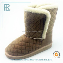 Fur Lining 2015 New Fashion cashmere furry boots snow