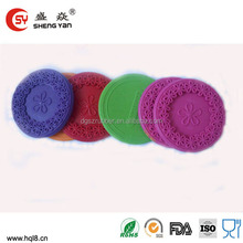 2014 HOT wholesale non-slip red wine glass rubber coaster,cup mat,silicone cup mat