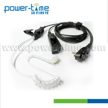 Handheld Two Way Radio Headset Two Wire Surveillance Kit earphone inflatable decoy military(PTE-880)