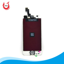 Mobile phone lcd screen for iPhone 5 parts, for iPhone 5 display with digitizer accessories replacement
