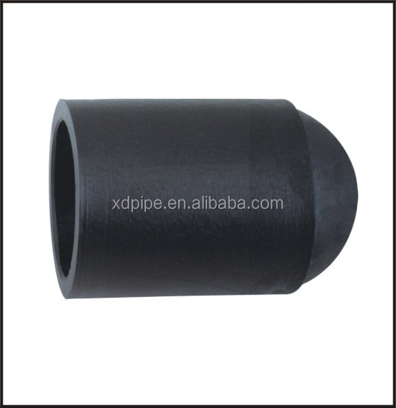 Pe buttfusion end cap with high quality and good service