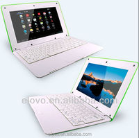 best low price android netbook laptop computer 1024*600 with multi-language