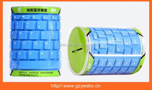 Wireless Bluetooth Keyboard Silicone Soft Keyboard