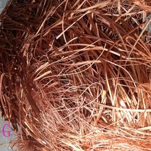 Alta pureza de chatarra de alambre de cobre 99.99%, cobre Millberry precio