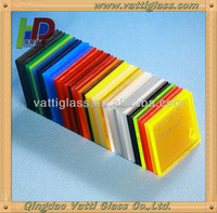 2014 fashion modern decorative plastic stained glass sheet panels