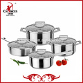 8 piezas de acero inoxidable utensilios de cocina coreano