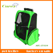 With Wheels Convenient Fold And Carry Cat and Folding Dog Pet Travel Bag