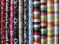 PU&PVC coated 100% polyester printed fabric for bags&tent using