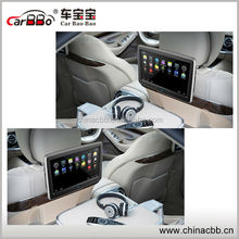 10.1 inch 1080P Android Taxi Headrest Advertisement Monitor, Update Contents via SD Card