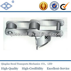 stainless steel long pitch 152.4 large roller type bagasse industrial carrier chains& intermediate carrierchains-roller type