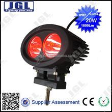 Big promotion led work light red blue, head lamp, spot flood beam
