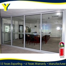 Aluminum doors Soundproof interior sliding door Comply with Australia standard