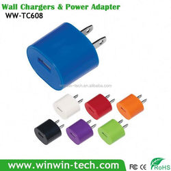 The new 1 usb wall charger for Iphone and moblie phone