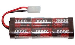 nimh sc 7.2v battery for rc plane and rc car