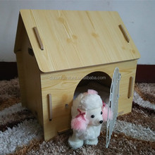 Large wooden dog cat pig pet house