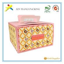 popular birthday cake box wedding cake box christmas cake box design and food packaging