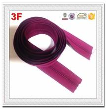 3# colored fancy nylon zipper long chain coil 1608