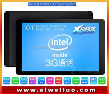 hot 10.1 Inch Teclast X10HD 3G Dual System Z3736F 2.16GHz Tablet PC Android4.4+Windows8.1 2560x1600 Air Retina 2GB DDR3L 64GB