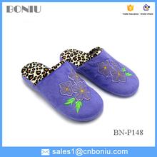 footwear designs plush bedroom or indoor leisure warm slipper for lady