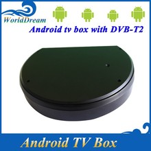 quad core android dvb-t2 tv box 2015 dvb t2 combo STB tuner