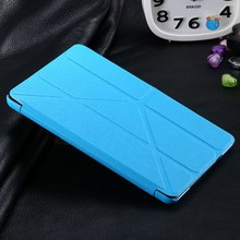 High quality 7.9 inch color combination pu leather case for ipad mini with stand .hybrid leather +hard pc case for ipad mini