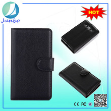 High quality customized flip wallet case cover for lg f60