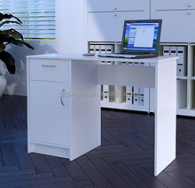 computer compact white good quality desk , free standing computer desk DX-524