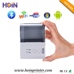 58mm Mini Portable Bluetooth Thermal Printer With Big Capacity Polymer Battery