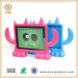 Big monster animal shape cartoon case for iPad 2