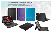 Tablet case with Bluetooth Keyboard for Surface Pro 3 ,Bluetooth Keyboard Case for Microsoft Surface Pro 3