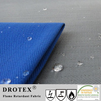 CVC 75/25 Fire Resistant Antistatic Fabric for Safety Uniform